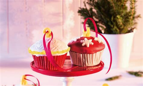 christmas decoration muffins recipe dr oetker