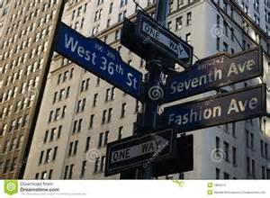 new york signs stock photos image 1866513