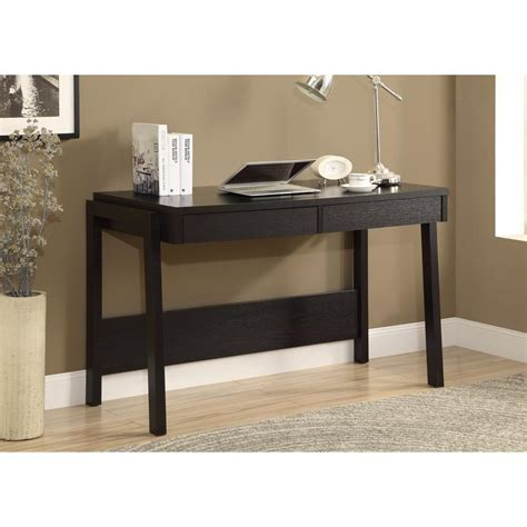 Cappuccino Desk by Monarch Specialties Cappuccino Desk With Drawers I 7032