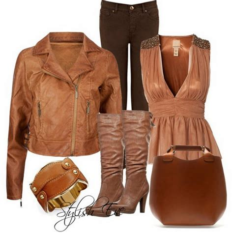 style eve clothes brown winter 2013 outfits for women by stylish eve