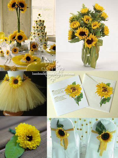 Sunflower Wedding Ideas   Sunflower Themed Party   New