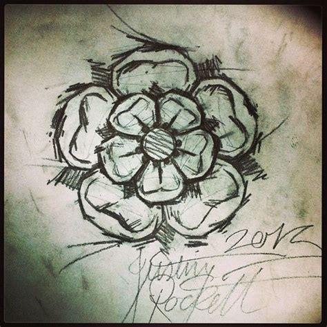 yorkshire rose tattoo designs scratchy prefer this style inkspiration