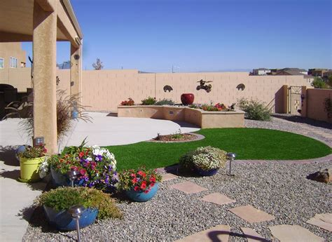 backyards inc backyard landscaping albuquerque nm photo gallery