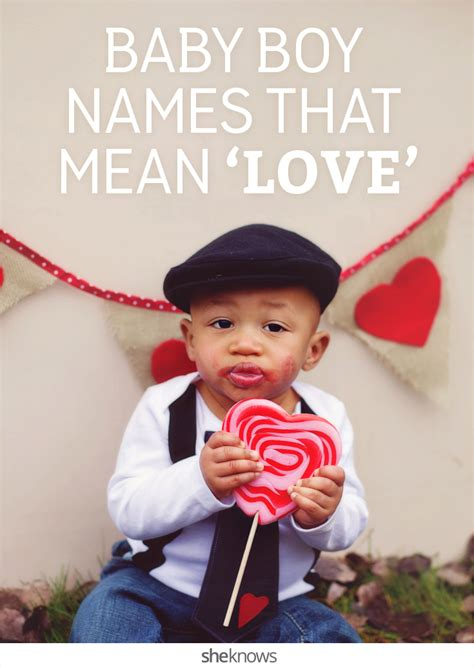 baby boy names with serious swagger baby boy names that mean love are perfect for your