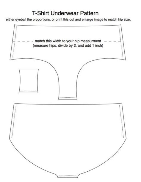 pattern underwear free download old t shirts reincarnated as underwear 171 fashion design