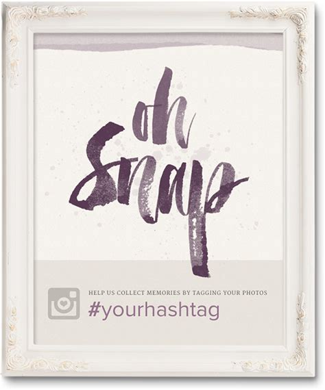 Wedding Posters Make free wedding hashtag posters ewedding