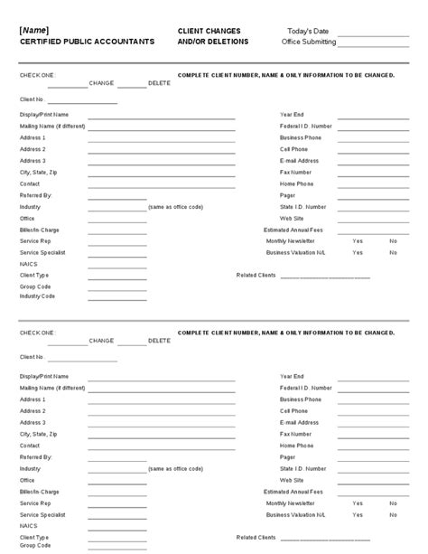 new client template 25 images of new client info template infovia net