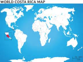 Costa Rica Map World by Costa Rica Maps Costa Rica Location Centro America