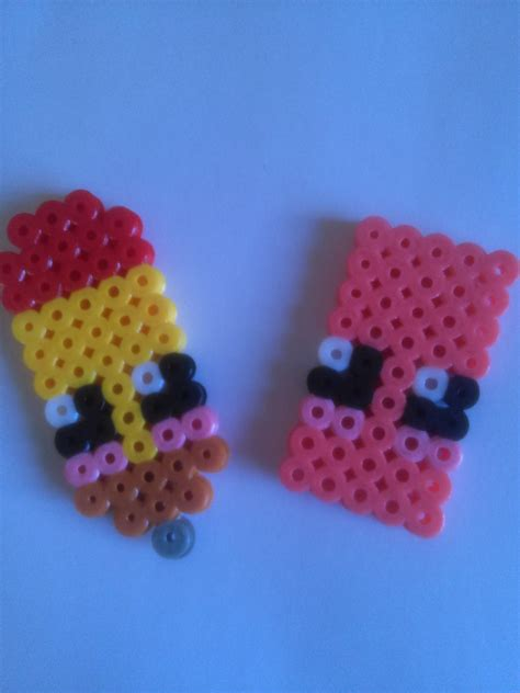 imagenes de gomas kawaii l 225 piz y goma de borrar estilo kawaii con hama beads youtube