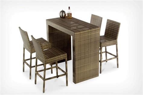 All Furniture by Woodware All Weather Furniture Bar Collection