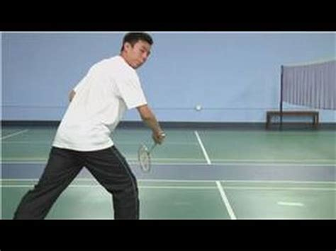 badminton swing technique badminton how to backhand swing in badminton youtube