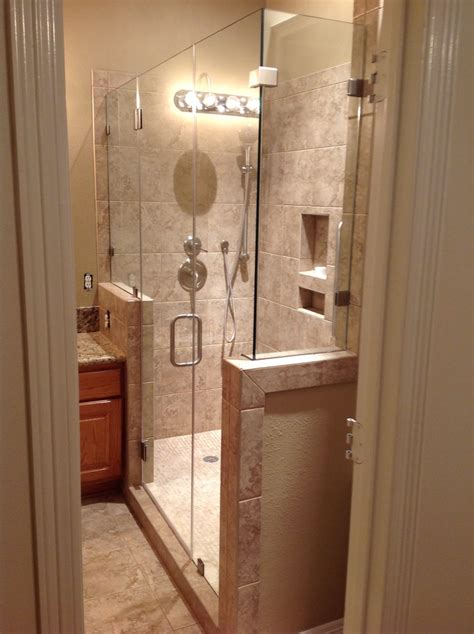 Seamless Glass Shower Doors by Pin By On Home Decor