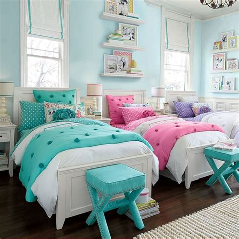 cute girl bedrooms cute girls room cute twin bedrooms pinterest you girl small stool and ottomans