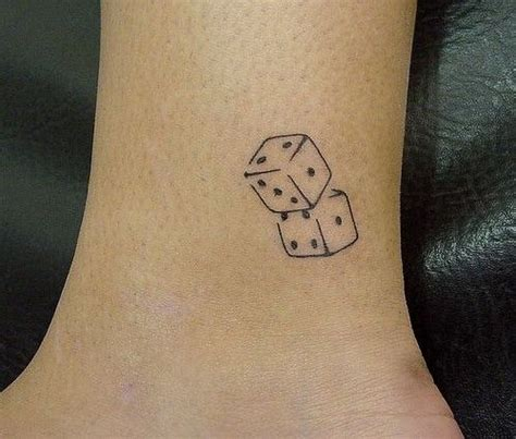 dice tattoo meaning simple dice tattoos dice