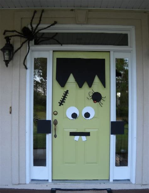 diy door decor spooky halloween decoration ideas and crafts 2015