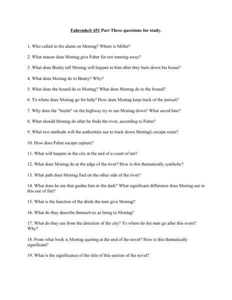 Fahrenheit 451 Worksheet by Worksheets Fahrenheit 451 Worksheets Opossumsoft
