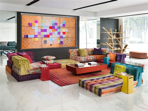 modern and french country furniture by roche bobois roche bobois new delhi india mah jong sofa showroom