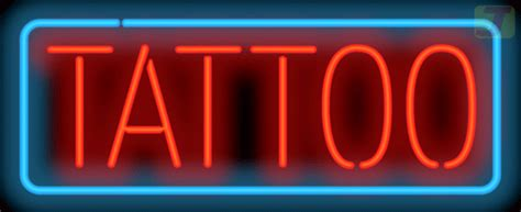 tattoo neon sign large size tpz 30 04 jantec neon