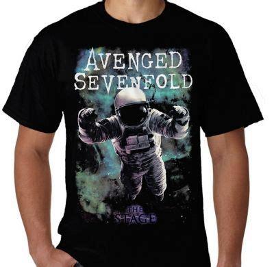 Kaos Hitam Avenged Sevenfold kaos avenged sevenfold astronaut kaos premium