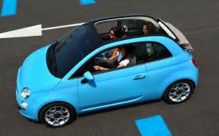 Soft Top Fiat 500 Fiat 500 Convertible Top View Photo 4