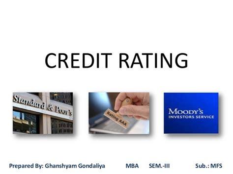 Aits Rajet Mba by Credit Rating 2030 Mba Iii Aits