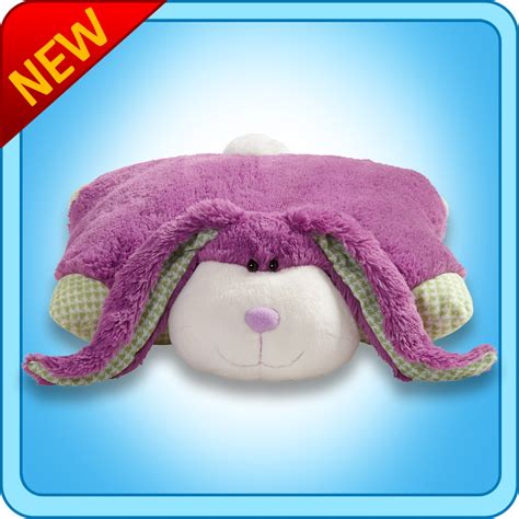 How To Make Pillow Fluffy Again by 04 19 11 Pillow Pets Purple Fluffy Bunny Giveaway Lower