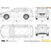 The Blueprintscom  Vector Drawing BMW X5 F15