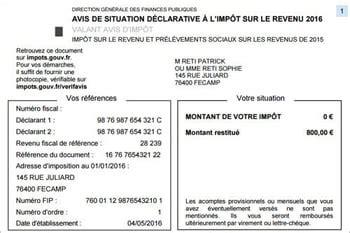 Plafond Bourse Crous by Asdir 2017 L Avis De Situation D 233 Clarative 224 L Imp 244 T Sur