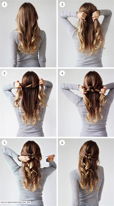 easy hairstyles with one hair tie 25 best ideas about hairstyle on pinterest plaits hair