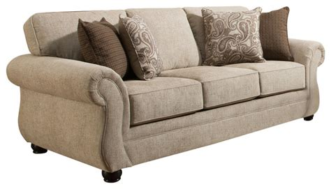 siam parchment sofa loveseat traditional sleeper sofa living room sleeper sofas thesofa