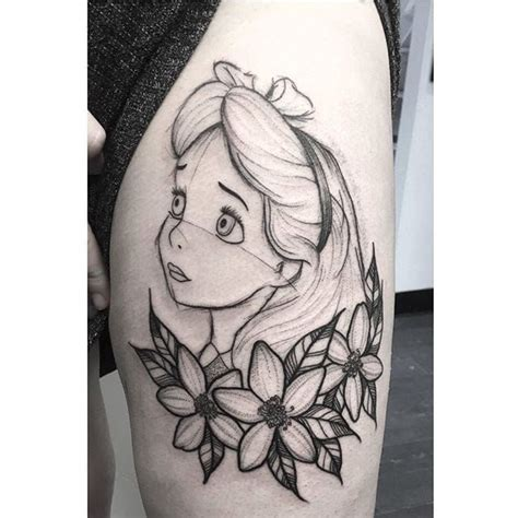 252 best alice in wonderland tattoos ideas images on