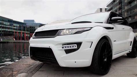 onyx range rover onyx concept range rover evoque rouge edition youtube