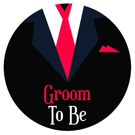 how to to be a groomer buy groom to be badge at madcaps shop