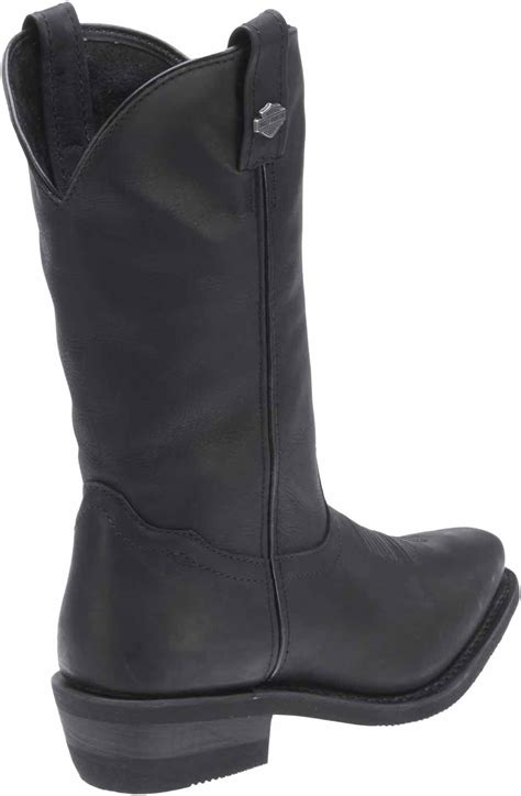 s motorcycle boots harley davidson s drayton 11 25 inch black or brown