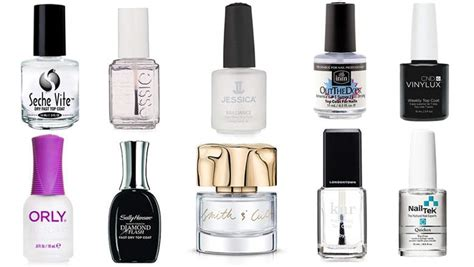 top nail colors top 10 best top coats for lasting nail
