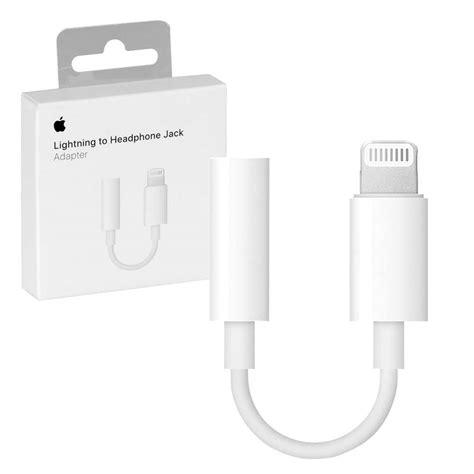 Earphone Apple Iphone 7 7 Lighning Connector Genuine In Ear genuine apple lightning to 3 5mm headphone adapter 7dayshop