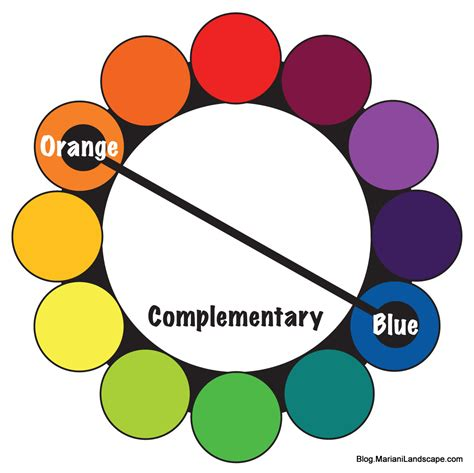 complementary colors color wheel complementary colors dark brown hairs