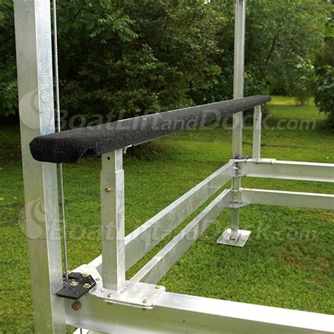 boat lift guide post brackets loading guides centering guides craftlander boat lifts