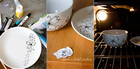 ceramic bowl painting ideas  creative decorations interesting ideas  home