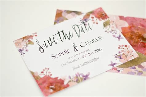 save the date wedding stationery uk save the dates