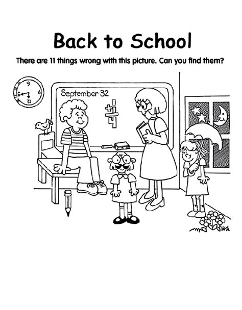 back to school coloring pages free back to school coloring page crayola com