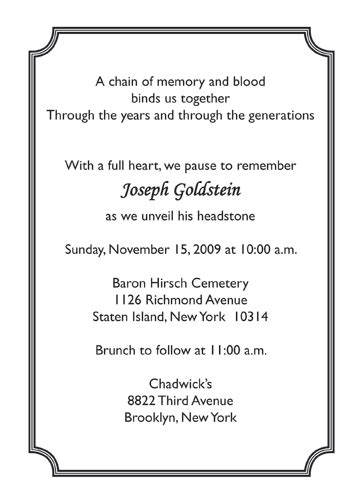 printable unveiling invitations tombstone invitations tombstone unveiling invitation words