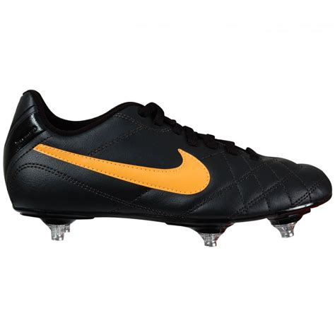 nike football boots for nike tiempo junior soft ground boots black