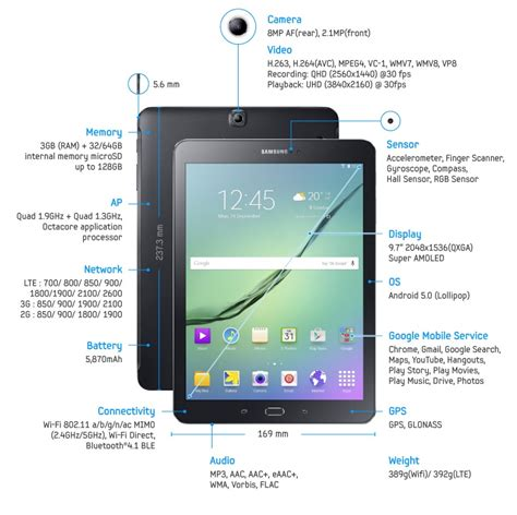 Tablet Samsung Galaxy S2 samsung galaxy tab s2 unveiled july 20 release sept 3