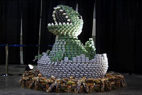 can sculpture if it s hip it s here archives canstruction food can