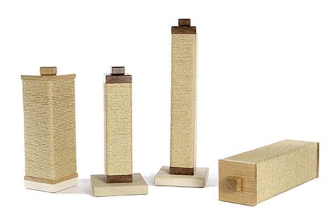 modern scratching post modern sisal cat scratching posts from charley billie