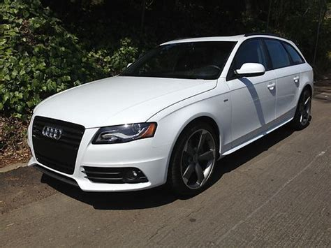 2012 audi wagon sell used 2012 audi a4 quattro avant wagon 4 door 2 0l