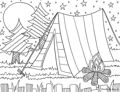 Coloring Page For Summer by Summer Coloring Pages Doodle Alley