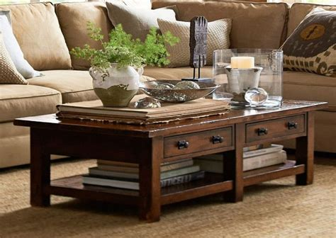Gallery of beautiful coffee table decorations