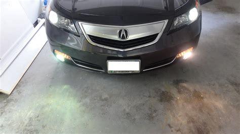 2012 acura tl hid fog lights acurazine acura